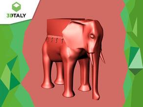 The Vicentino Michetti's Elephant