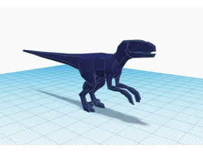 Low Poly Raptor