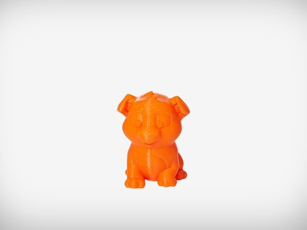 Niko the Puppy by MakerBot - Thingiverse