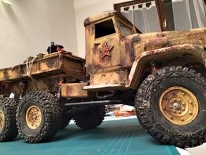 Body camion 1/10 type salaire de la peur  gang 93