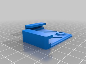 Ikea LOTS mirror bracket for CR-10 with insulated bed - integrated strain relief