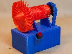 Jet Engine Model Motor Drive