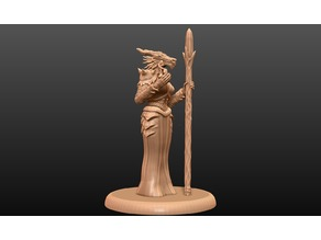 Dragonborn Enchantress - Tabletop Miniature