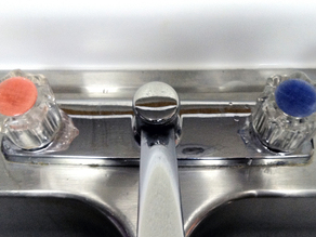 Faucet knob cover