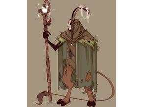 Daimhin the Tiefling Druid
