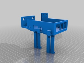 Anycubic I3 Mega - Raspberry pi and camera mount