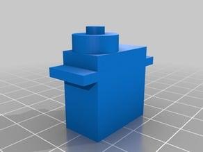 OpenScad model of servo 9g