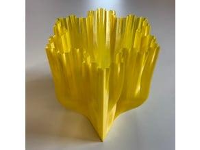 Koch Snowflake Vase
