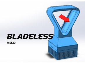 Triangular Bladeless Fan