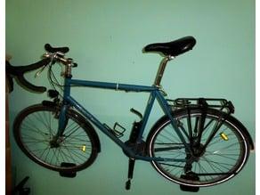 Bike Wall Hanger with Carabiner