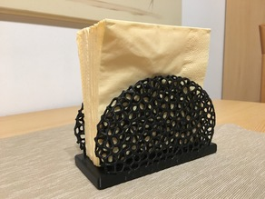 Napkin holder Voronoi Style