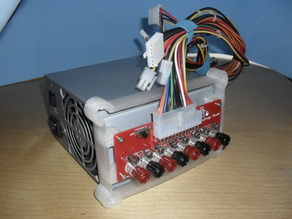 Benchtop Power PCB Holder for ATX PSU
