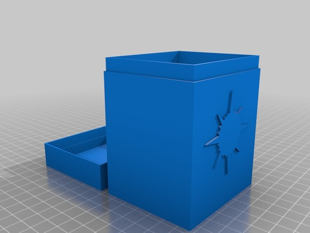 Mtg Commander Deck Box Orzhov By Erik Uy Thingiverse If printed full size on paper/card stock you can cut it out and make a deckbox for your magic cards. thingiverse