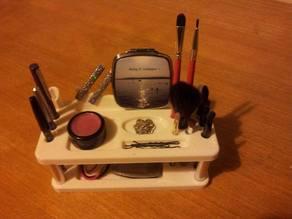 Desk organiser, Makeup stand
