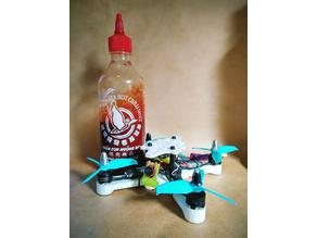 "X-153 - ""Sauce 1"" - XL Monster Whoop - 3"" Micro Brushless Quadcopter Drone"