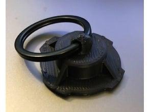 Quad Lock Phone Key RIng Holder