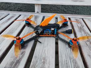 Floss 3.0 frame Rocket canopy with switchable crash flip fin