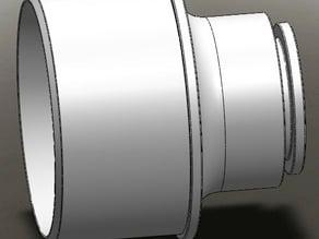 DustRight (Rockler) Custom Adapter