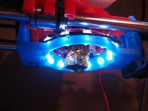 Led Ring for Prusa Mendel X-Carriage