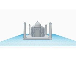 Taj Mahal (designed in tinkercad)