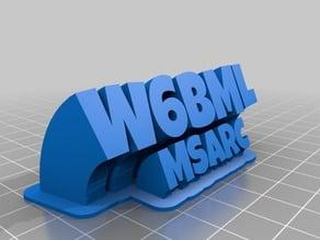 W6BMLclubsign
