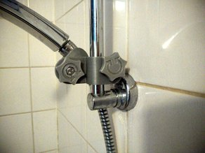 Shower holder, no pin