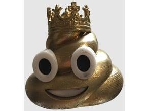 Pumpenkönig Pokal Kegeln - Poop Emoji