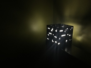 Minecraft Obsidian Ore Nightlight