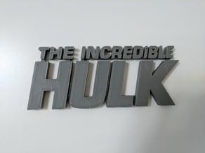 Hulk Logo (Marvel)