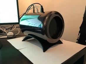 Mac pro horizontal desktop stand