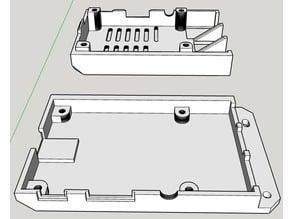 Raspberry Pi Case - Prusa i3 MK2 Mount