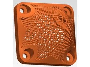lattice mechanical part
