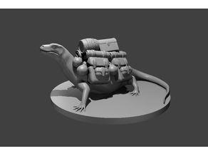 Giant Pack Lizard