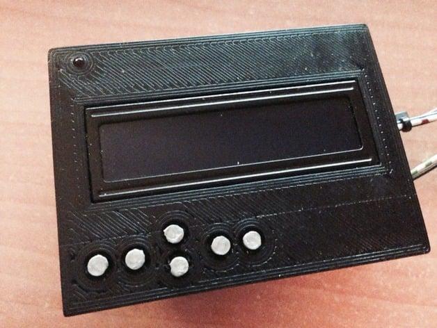 Bezel for sainsmart lcd keypad shield the arduino by
