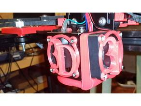 X5s Filament Cooling Shrouds