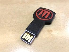 Customizable Key USB Cover