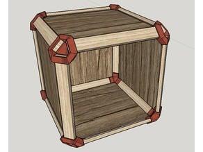 Modular box corner