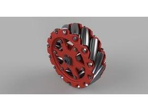 Kinisi Mecanum Wheels Model 1 (150 mm 14 rollers)