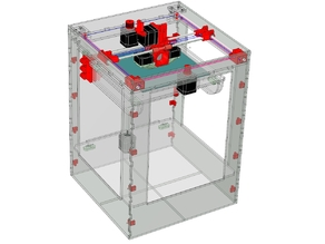DW-BOT (Dualwire-gantry) 3d printer.