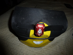 BIke light holder strap