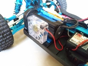 2400 Brushless Motor Fan Mount for A959 and other variants