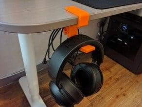 BEKANT Table Headphone Hanger
