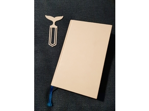 Whale fin - Bookmark