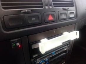 Clip-in Phone holder for VW Golf IV/Bora IV/Jetta IV MK4