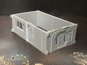 Sci Fi Simple Modular 28mm Walls