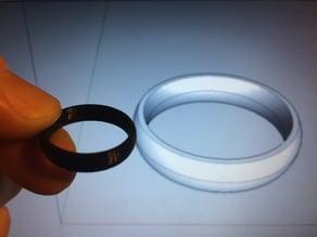 Design Print Build - 0004 Wedding Ring