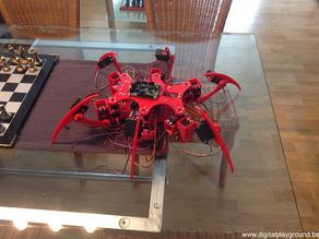 Andy - the 3D printed hexapod