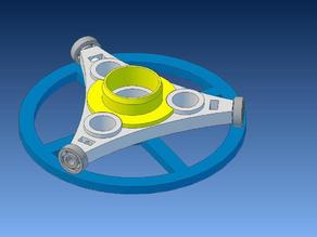 Horizontal Spool Roller