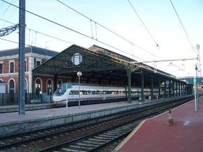 Railway station roof / Marquesina de estación de tren H0 (Valladolid Campo Grande)