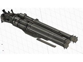 Blundergat/Acidgat four barreled shotgun prop